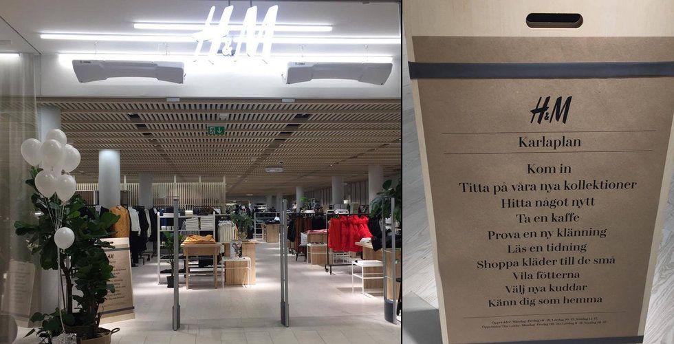 Här är H&M:s djärva motdrag – när e-handeln tar över