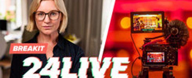 AVSLÖJAR: Breakit satsar på live-TV – i 24 timmar