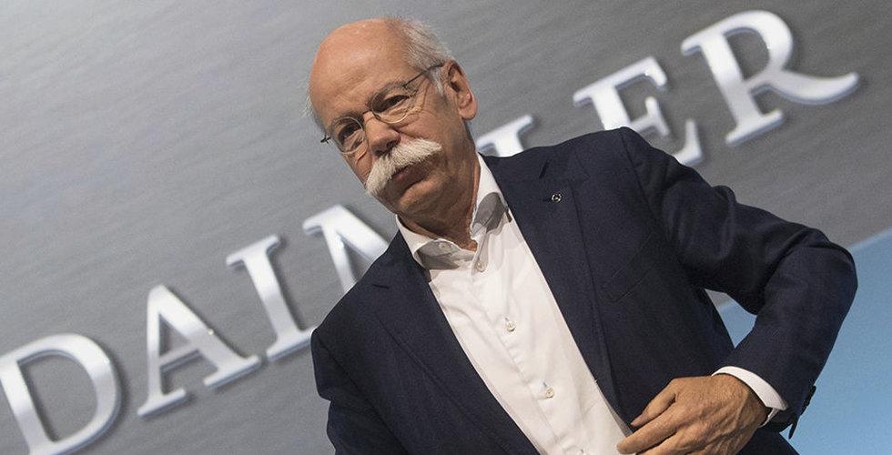 Tyska fordonsjätten Daimler vinstvarnar