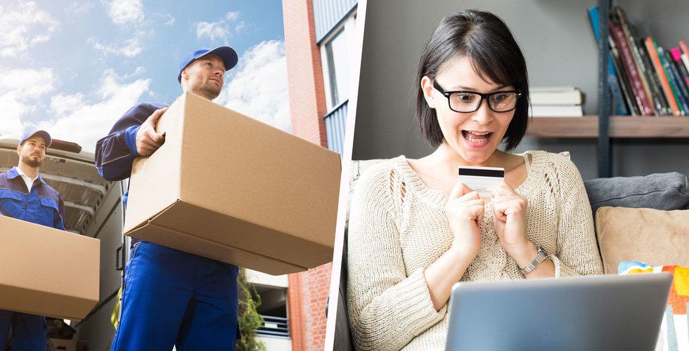 Trendbrott bland e-handlarna – gratis frakt snart ett minne blott?