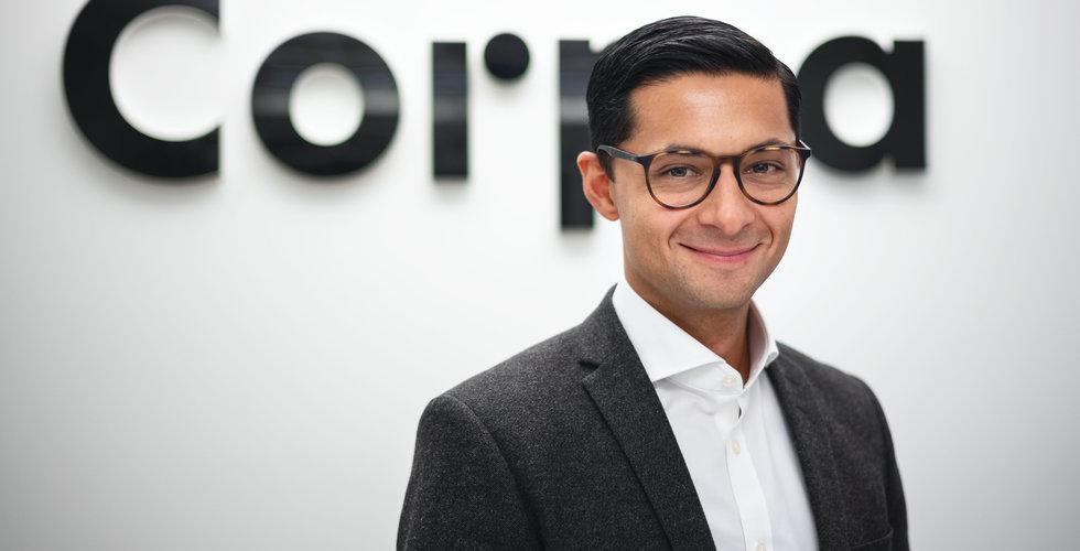 """Corpia ger ut egna företagslån – """"Ett segment där det inte är så trångt"""""""