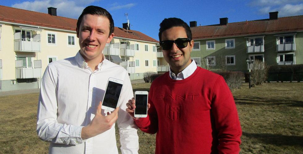 Duo vill skaka om Sveriges restauranger – köper rabattappen Shake your deal
