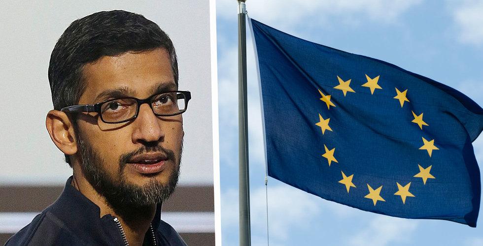 EU tittar på hur Google inhämtar data