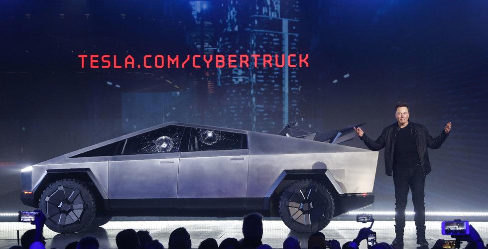 Elon Musk: Cybertruck kan bli en flopp