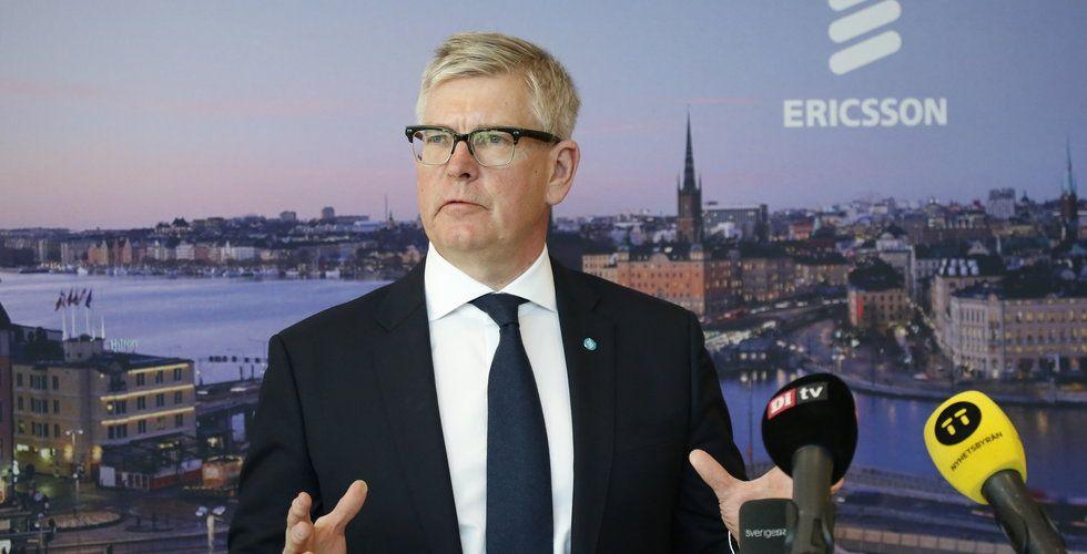 Ericssons vd flaggar för global utrullning av 5G under 2019