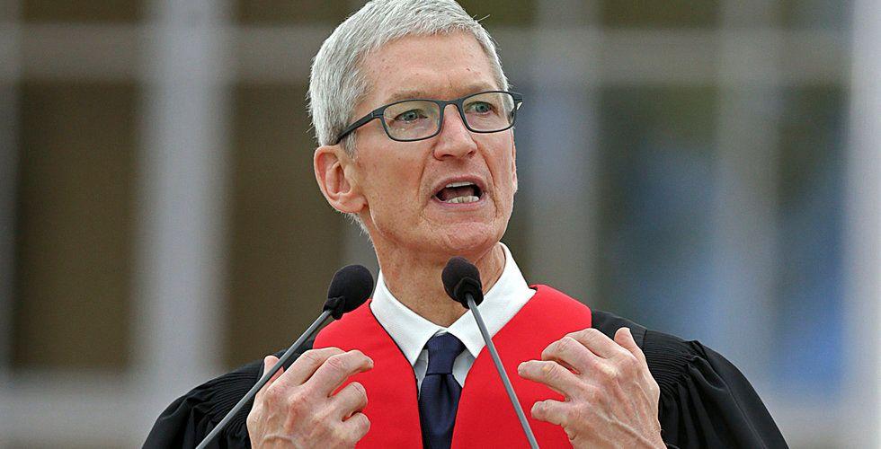 Apples vd fördömer nazi-attack – kritiserar Trump