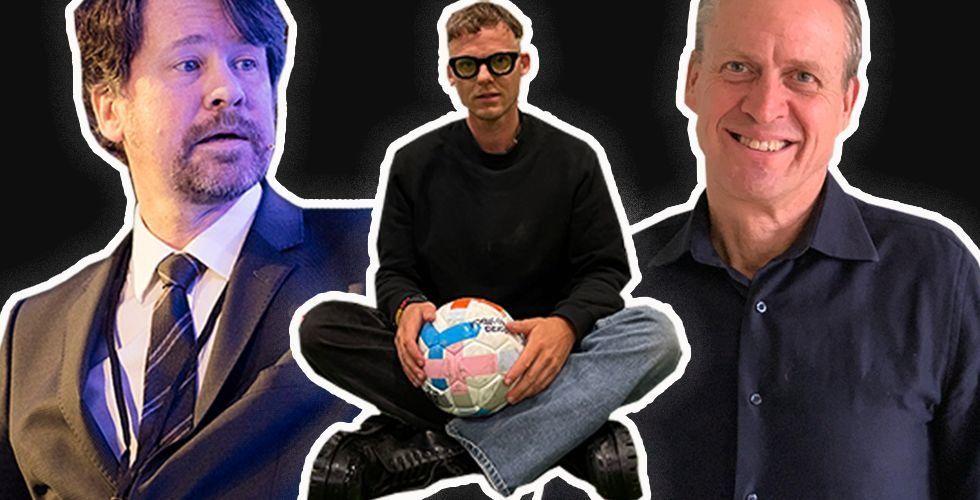 Henrik Hjelte, Patrik Arnesson och Henrik von Schoultz. Foto: Pressbild/Montage