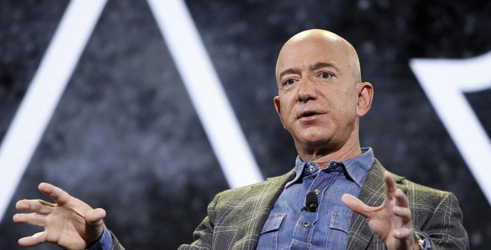 Amazon-chefen har sålt aktier för 3,5 miljarder dollar senaste veckan