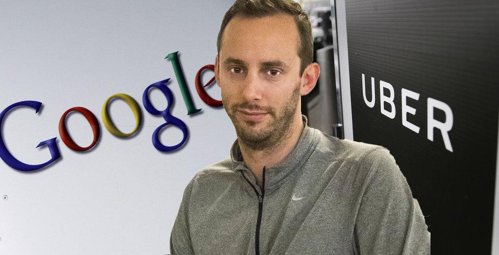 Breakit - Tankade ner Google-filerna och drog – sen cashade han in 5 miljarder från Uber