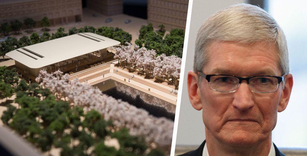 Apple stoppades i Kungsträdgården – kan låta tomten stå orörd till 2046