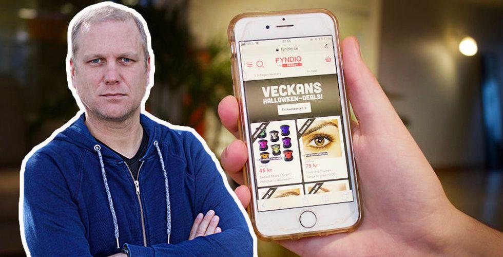 Svenska e-handlare i kläm när Fyndiqs ägare nu klär bruden