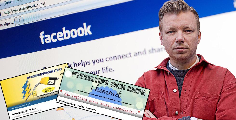 Emanuel Karlsten: Här är de största Facebookgrupperna – just nu