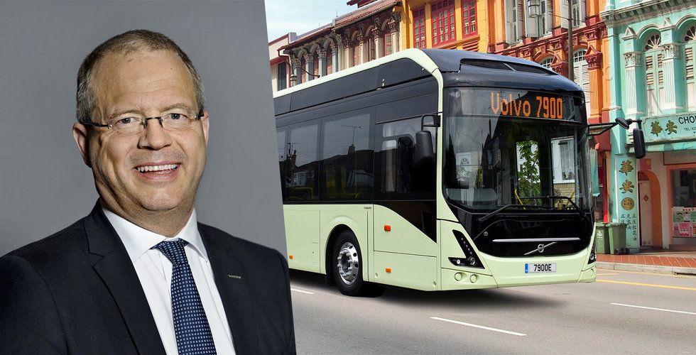 Volvo sätter omsättningsrekord – resultatet marginellt under förväntningarna
