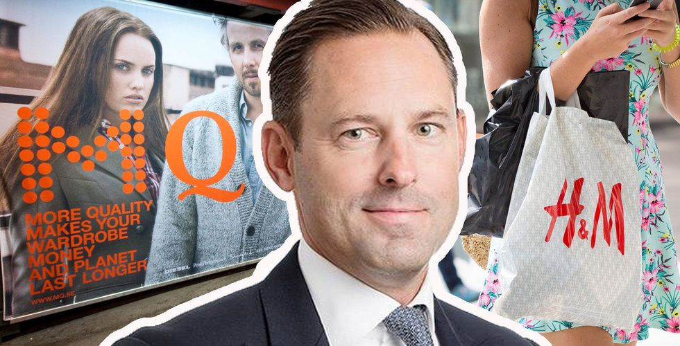"""Öresunds vd efter kursraset i MQ: """"Vi har en nisch som skiljer sig från H&M och Zalando"""""""