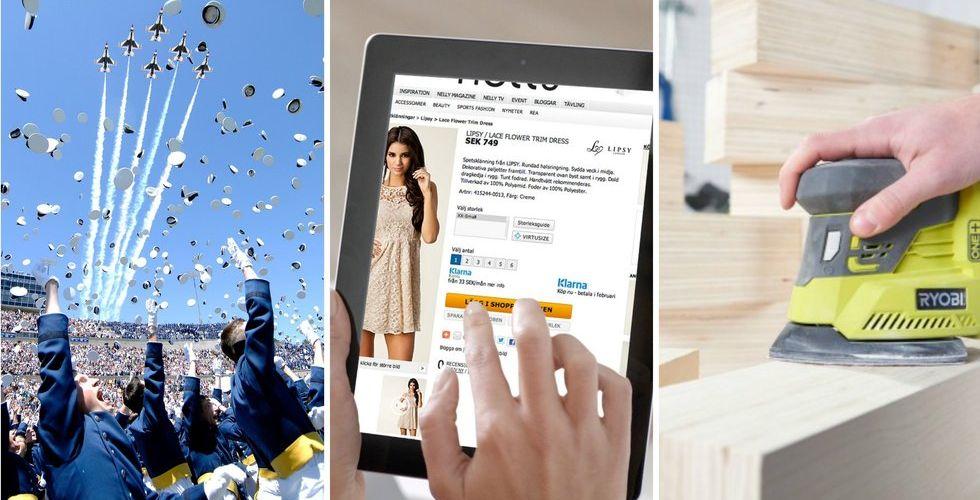 Vart femte köp sker nu på nätet - byggvaror bakom ny onlineboom