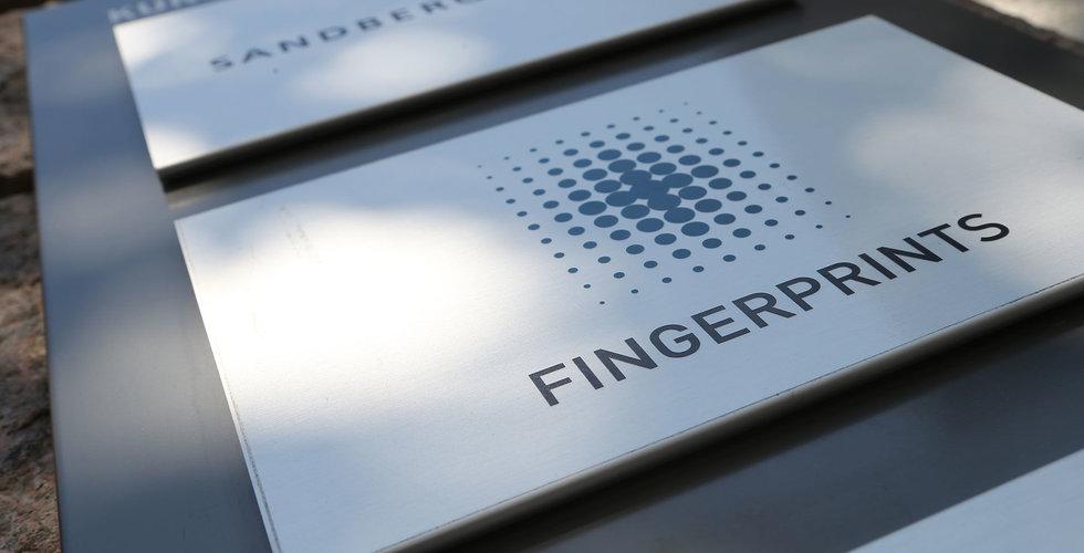 Fingerprint i pilottester med Visa i USA