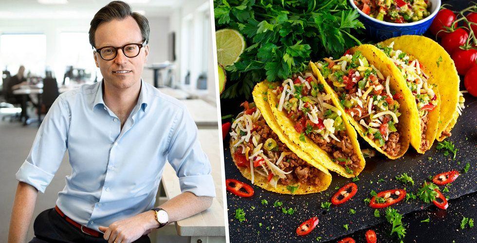 Foodora och Santa Maria lanserar virtuell taco-kedja