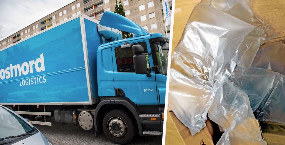 Postnord vill sluta köra luft – skulle kunna ta bort var tredje lastbil