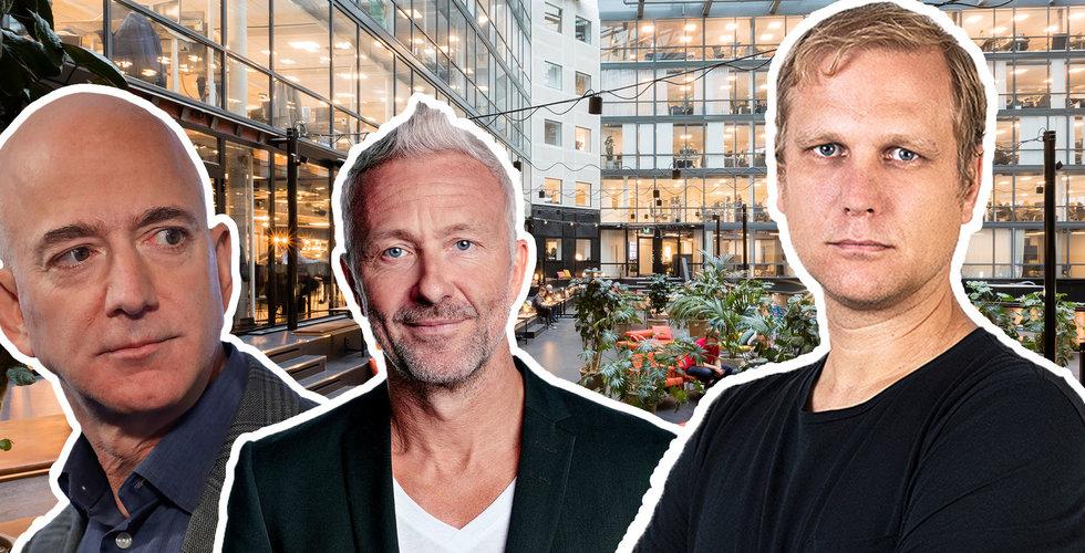 Dissade Jeff Bezos och gick i konkurs – nu får svenske techprofilen en ny chans