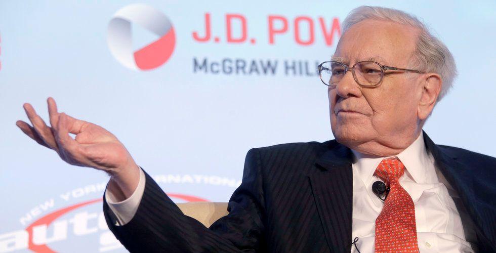 """Warren Buffet: """"Jag borde ha köpt Amazon-aktier för länge sedan"""""""