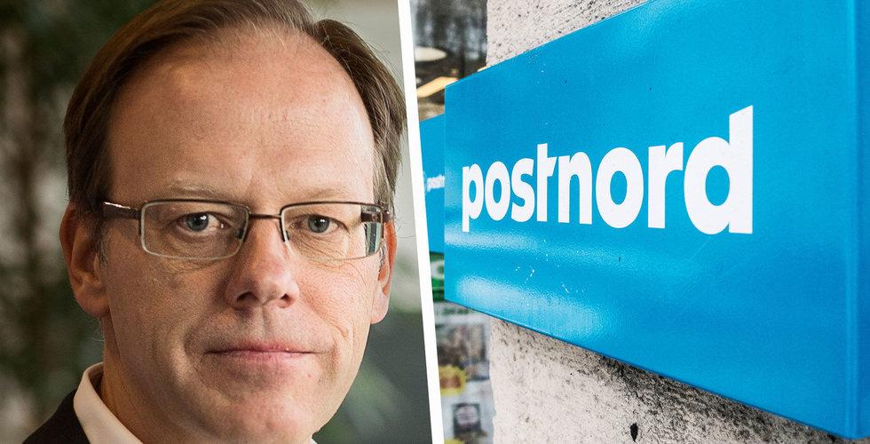 Postnords vd Håkan Erikcsson får lämna