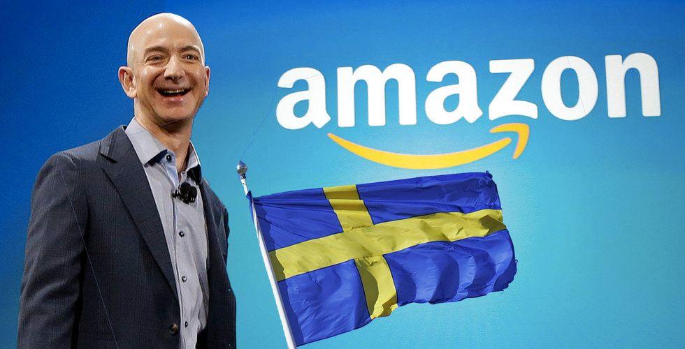 Amazon bjuder in till presskonferens i Stockholm