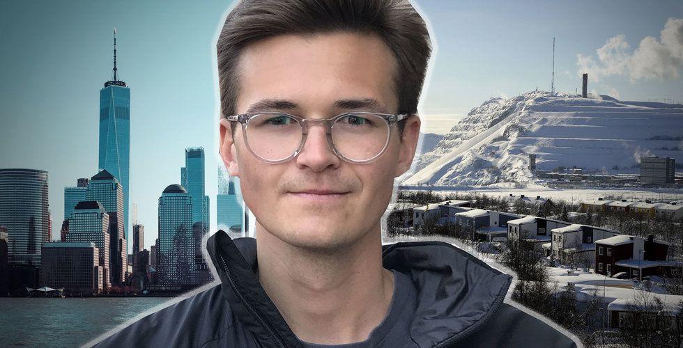 Från Kiruna till Manhattan – nu ska han shoppa svenska startups