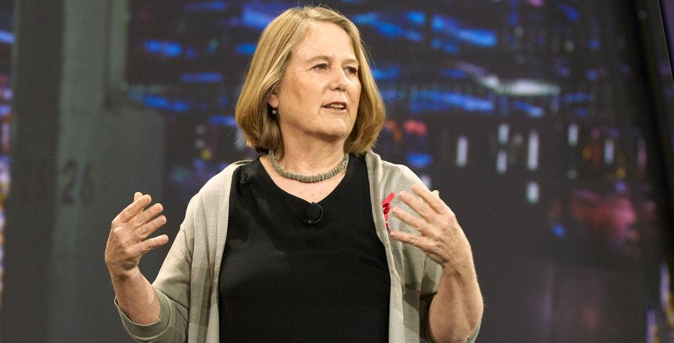 Googles molnchef Diane Greene vill göra stora förvärv