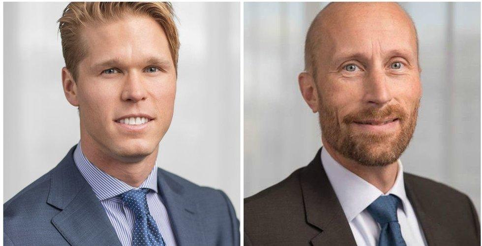 Lämnar Swedbank – Carl Armfelt och Erik Sprinchorn startar eget