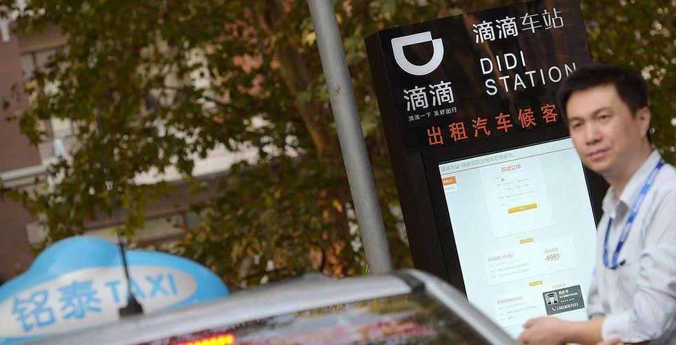 Didi Chuxing ansöker om börsnotering