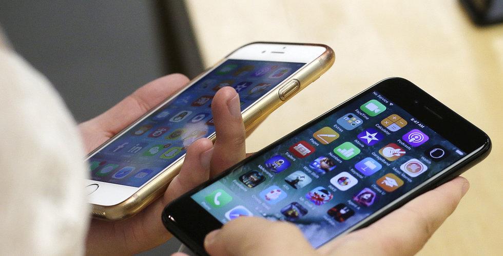 Kraftig minskning av intresset för Apples Iphone i Kina