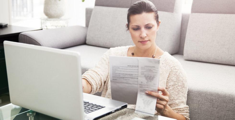 Okända skatteavdraget i deklarationen för investerare och entreprenörer