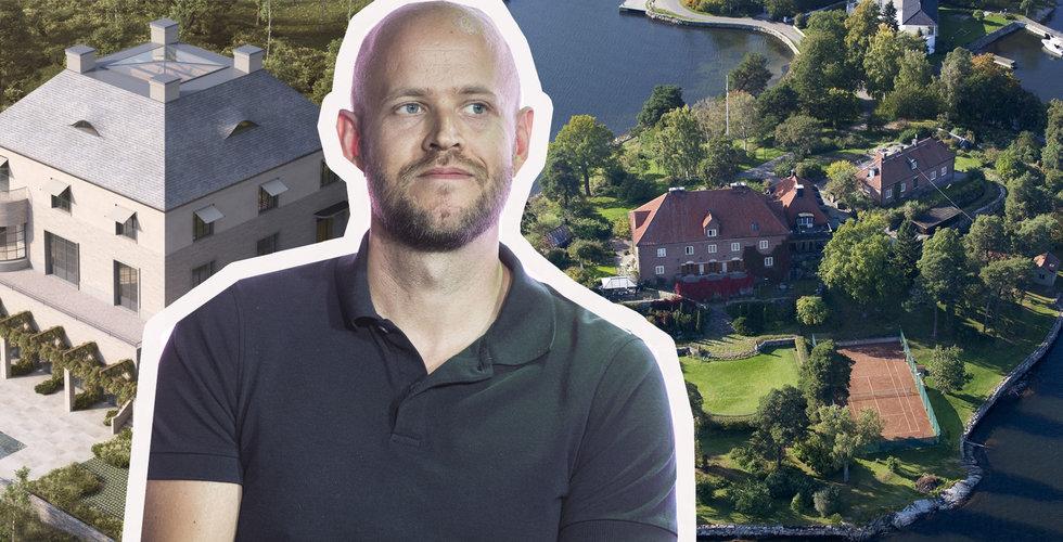 Daniel Ek köper ny drömtomt i Djursholm – för över en halv miljard