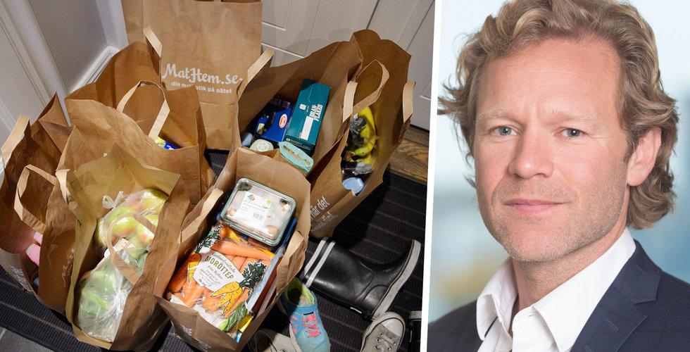 """Boom för svenska mat-nätbutiker: """"Flyttats två år framåt i tiden"""""""