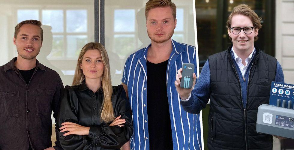 Ska se till att du kan ladda mobilen överallt – köper konkurrent