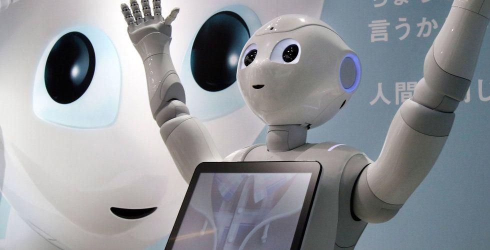 Breakit - Skapade Softbanks robot Pepper – nu får bolaget in nästan en halv miljard