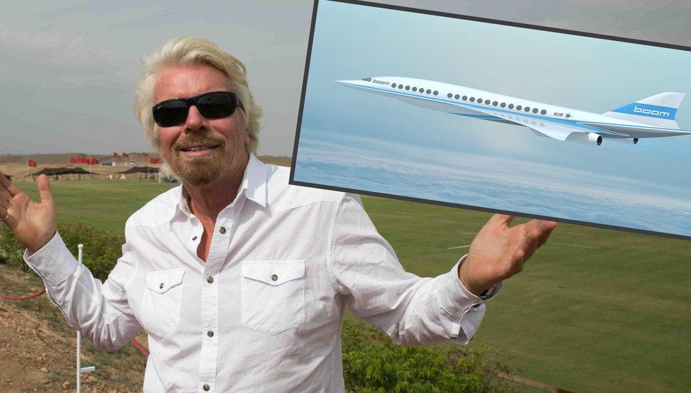 Breakit - Flygstartup bryter ljudbarriären - landar avtal med Richard Branson