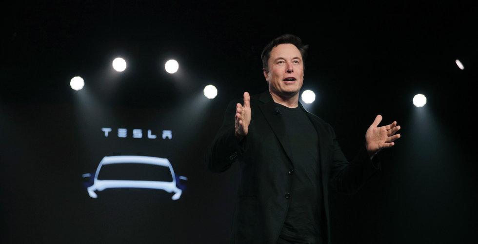 Tesla steg 4,1 procent i efterhandeln efter rapport