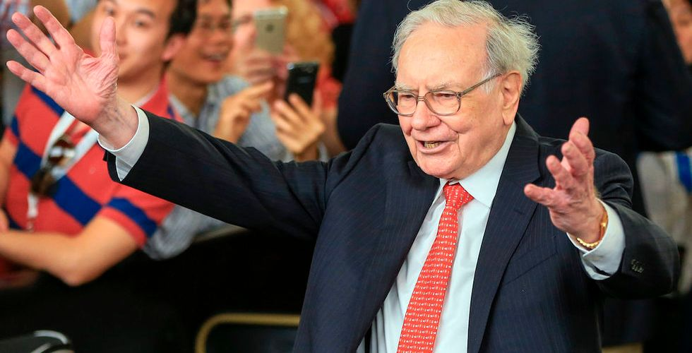 Breakit - Warren Buffett storköper aktier i Apple