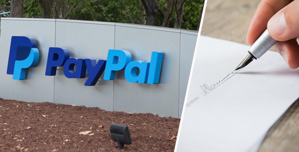 Paypal skickade brev till avliden kvinna – säger att hennes död bryter mot avtalet