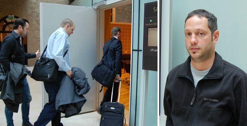 """Breakit - KNC-chefen nöjd med första dagen i rätten: """"Har gjort allt rätt"""""""