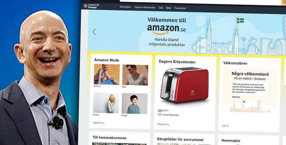 """""""Project Dancing Queen"""" avslöjat – så kommer Amazons svenska sajt se ut"""