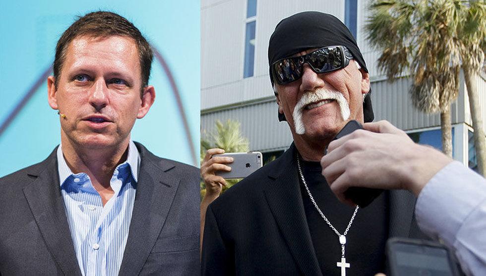 Miljardären Peter Thiels hemliga plan – sänka Gawker med Hulk Hogan