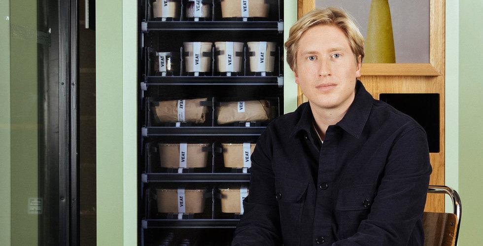 Veat vill växa snabbt med växtbaserat i matautomater – har spanat på USA