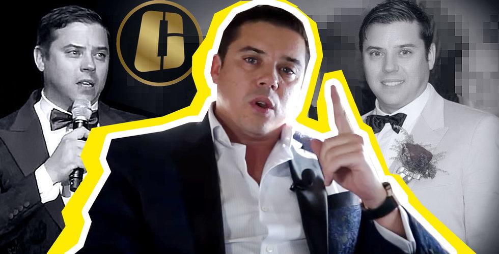 """Sebastian Greenwood pekas ut som hjärnan bakom Onecoin – riskerar 20 års fängelse: """"Var en svärmorsdröm"""""""