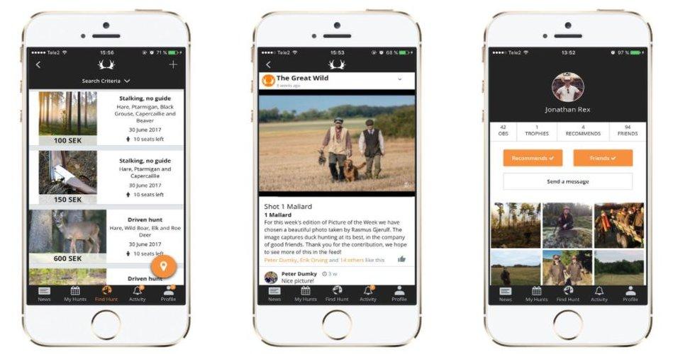 Breakit - Svenska jakt-appen The Great Wild laddar för börsen