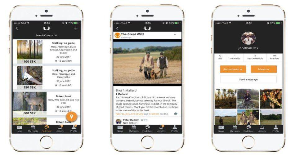 Svenska jakt-appen The Great Wild laddar för börsen
