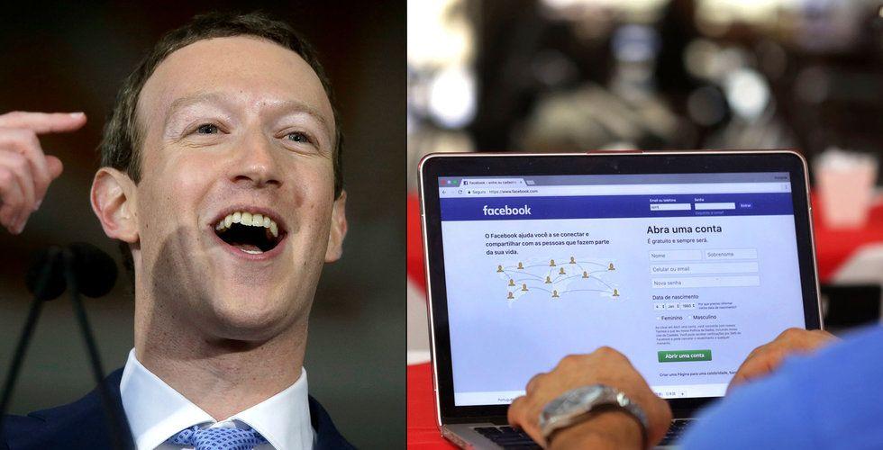 Därför firar Zuckerberg – trots att Facebook tappar användare