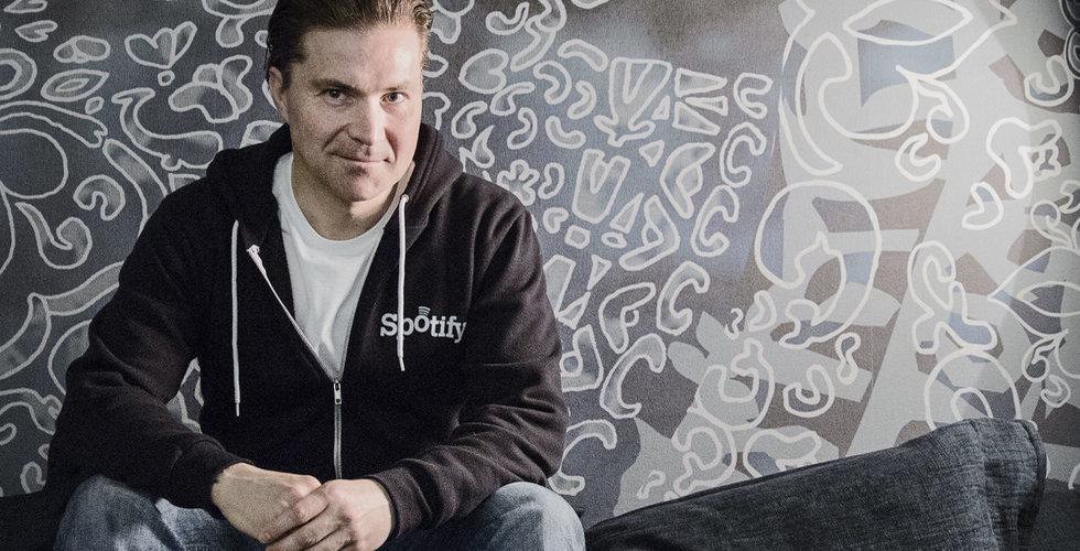 Martin Lorentzon säljer aktier i Spotify