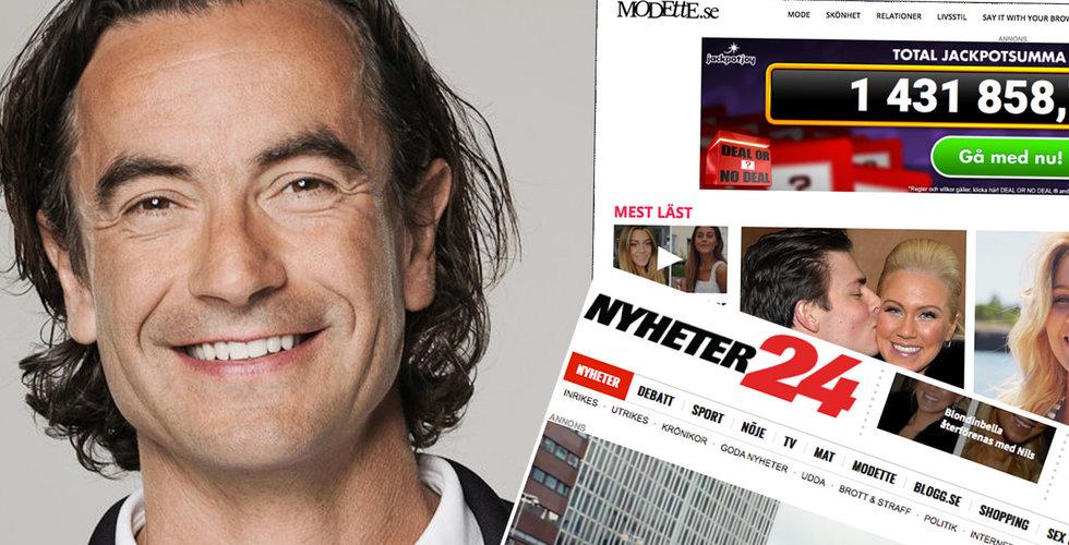 """Mediedelen tynger Douglas Roos koncern: """"En dålig affär"""""""